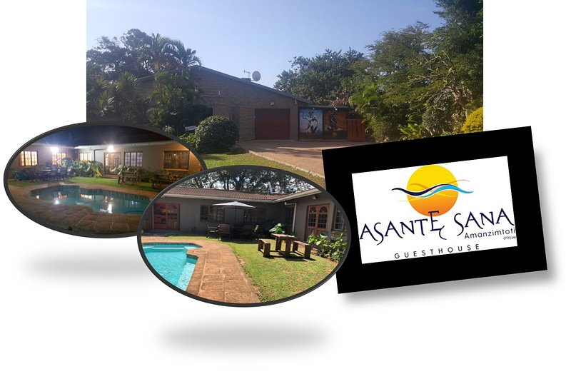 Asante Sana Guesthouse Amanzimtoti - South Coast accommodation near Durban, vacation rental in Isipingo