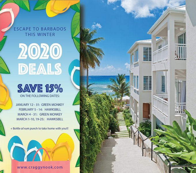 Save 15% on our available dates from January to March 2020!