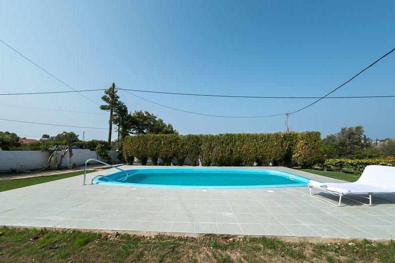 Stemma Pool Villa, holiday rental in Filerimos