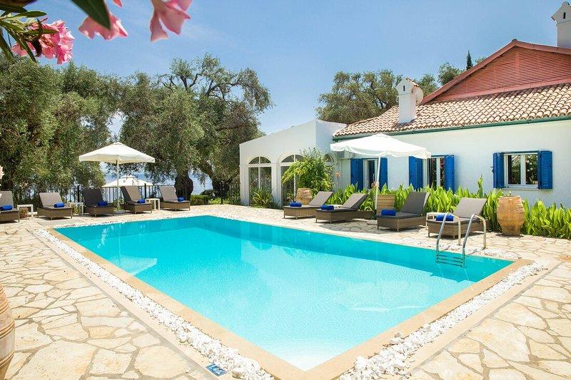 Villa Barbati Beach, holiday rental in Corfu