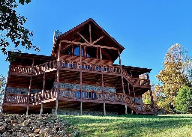 Majestic View Lodge nel Dogwood Farms Resort