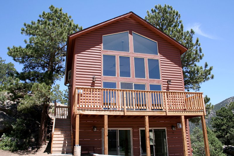 Lazy R Cottages: 16A, vacation rental in Estes Park