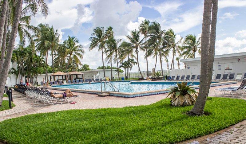 Der New Casablanca Hotel-Poolbereich