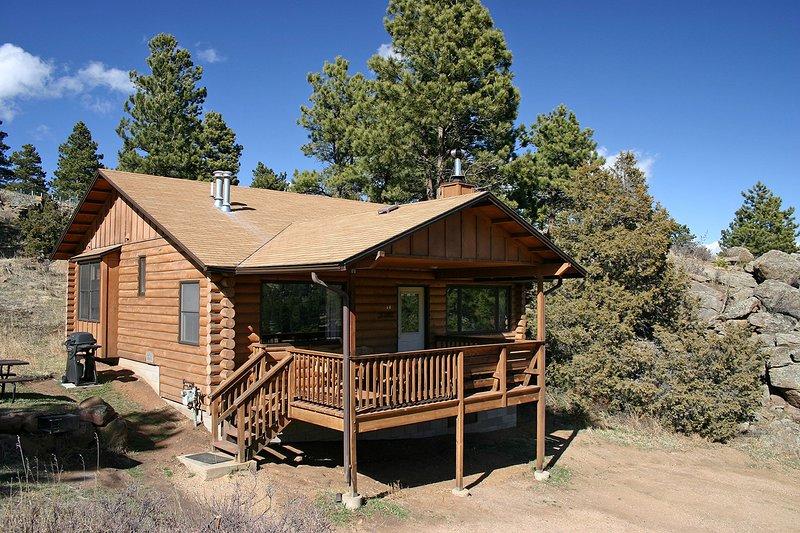 Lazy R Cottages: 14, location de vacances à Estes Park