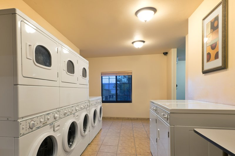 Do your laundry with ease using the on-site laundry facilities.