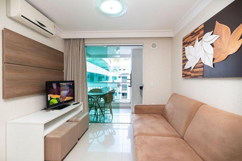 Aluguel Apartamento 1 quarto Summer Beach Bombas/SC 601, alquiler vacacional en Porto Belo