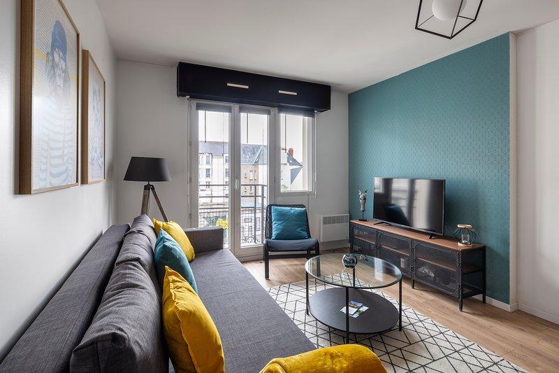 Le Sphinx - Cité des Congrès - en bail mobilité, vacation rental in Nantes