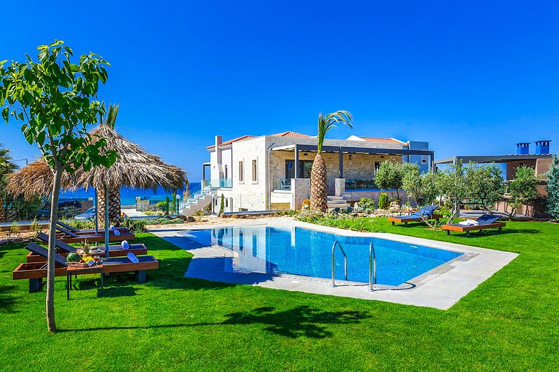 Akti Seaview Villa, Stavromenos Rethymno Crete, vacation rental in Stavromenos Rethymnis