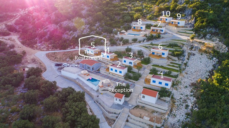 Camping Homes Grot-One Bedroom Home with Sea view H5, holiday rental in Bacina