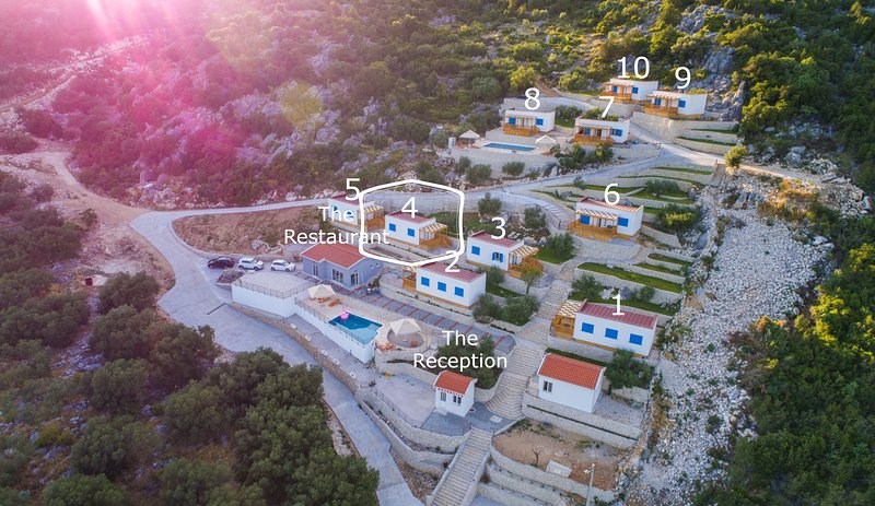 Camping Homes Grot-One Bedroom Home with Sea view H4, holiday rental in Bacina