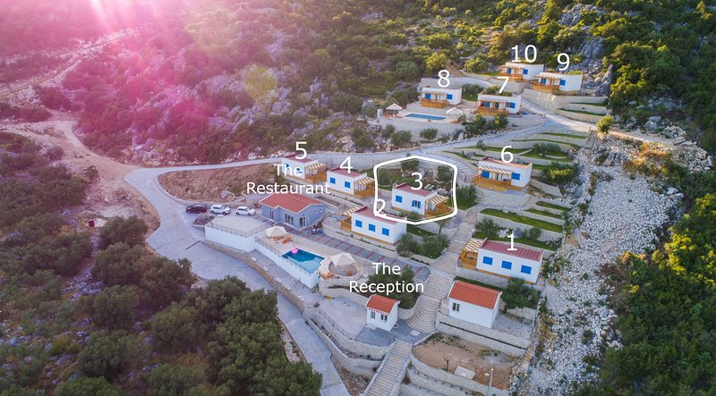 Camping Homes Grot-One Bedroom Home with Sea View H3, holiday rental in Bacina