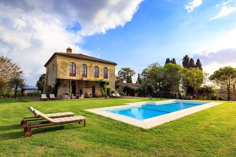 Casale Montesoli, Ferienwohnung in Buonconvento