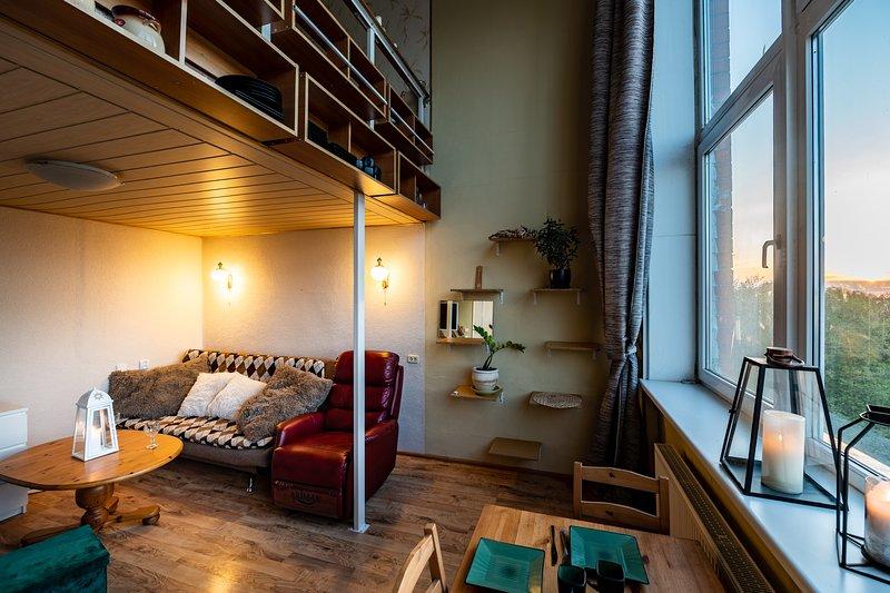 Bohemian paradise, 2 floor, sea view., alquiler de vacaciones en Letonia