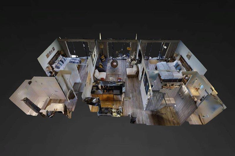 Vista 3d del condominio