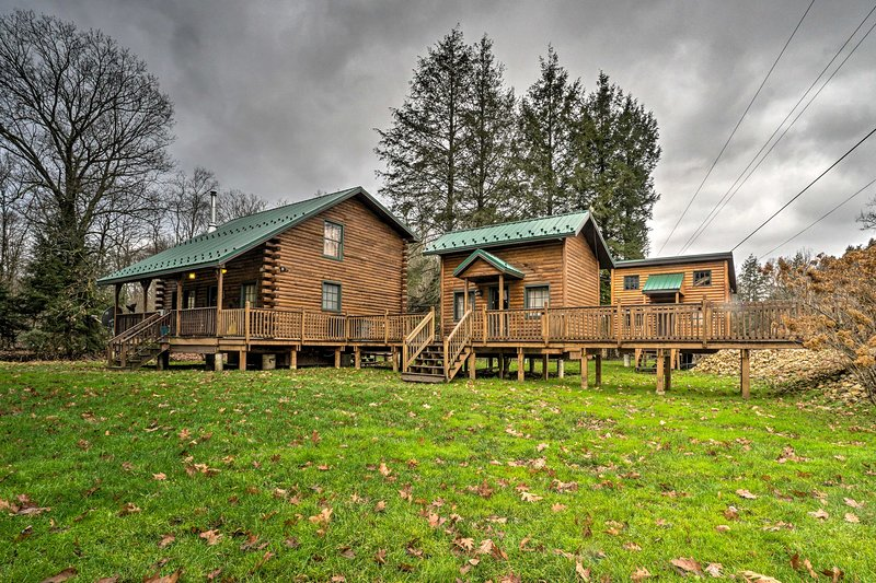 Book today to escape to the beautiful Pennsylvania wilderness this summer!