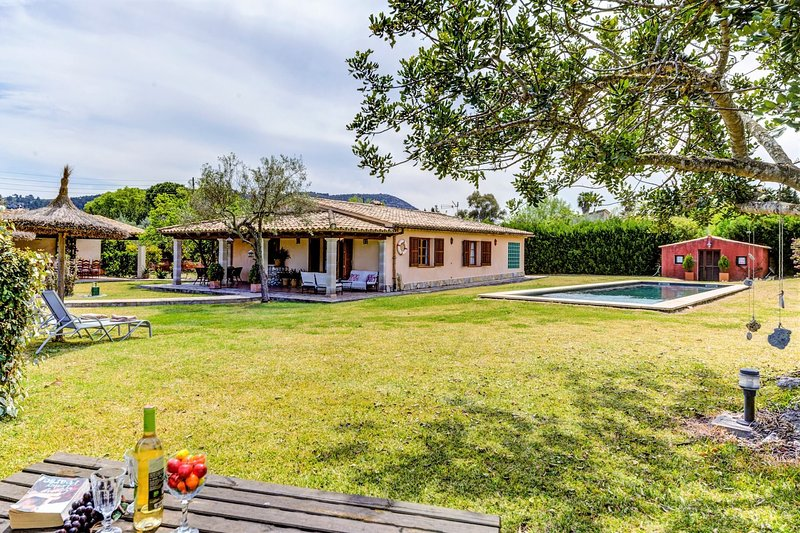 Train House Chalet in Puerto Pollensa