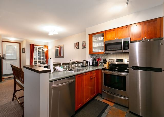 """Great unit. We really appreciated that the kitchen was so well"