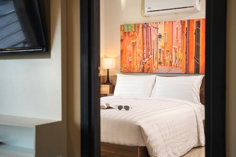 Apartment with pool and spa near Mai Khao beach, holiday rental in Mai Khao
