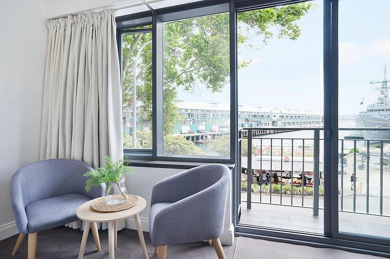 Sala de estar / Balcón