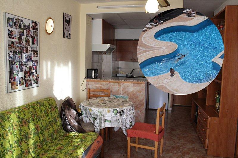 Top Appartment in Calella 500 meter vom Meer entfernt, aluguéis de temporada em Calella