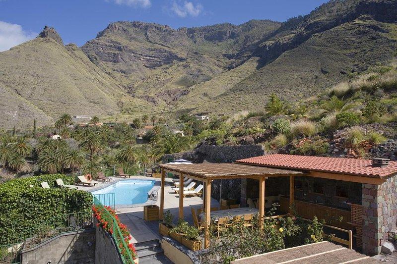 Casa rural en el Risco de Agaete - A, holiday rental in Agaete