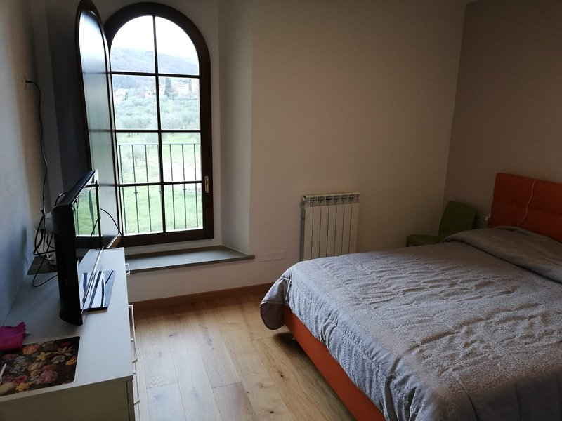Nice apartment with shared pool, holiday rental in Falciani