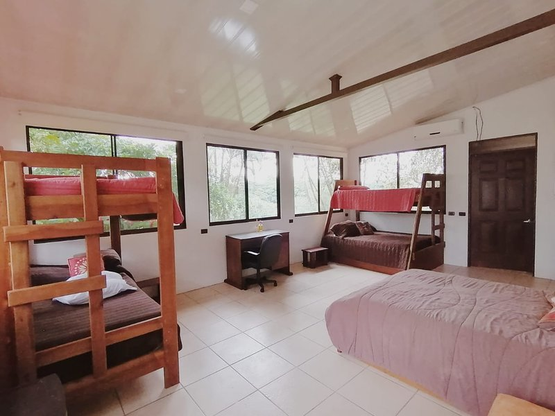 Grasshopper room in Rainforest Paradise – semesterbostad i Province of Heredia