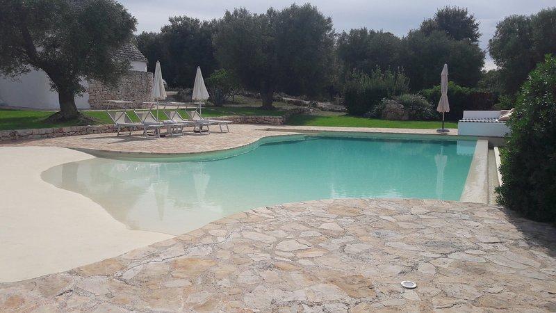 TRULLI CON PISCINA LA CEDRINA, holiday rental in Ceglie Messapico