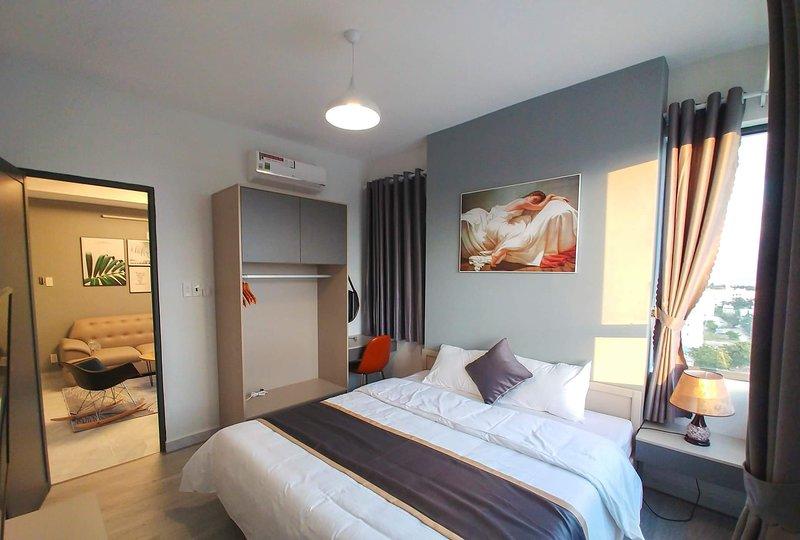 [Seaside] 2 - Bedroom Apartment + Sunny Balcony - A3.10, holiday rental in Khanh Hai