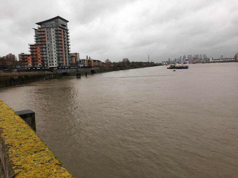Mast Quay from the Thames