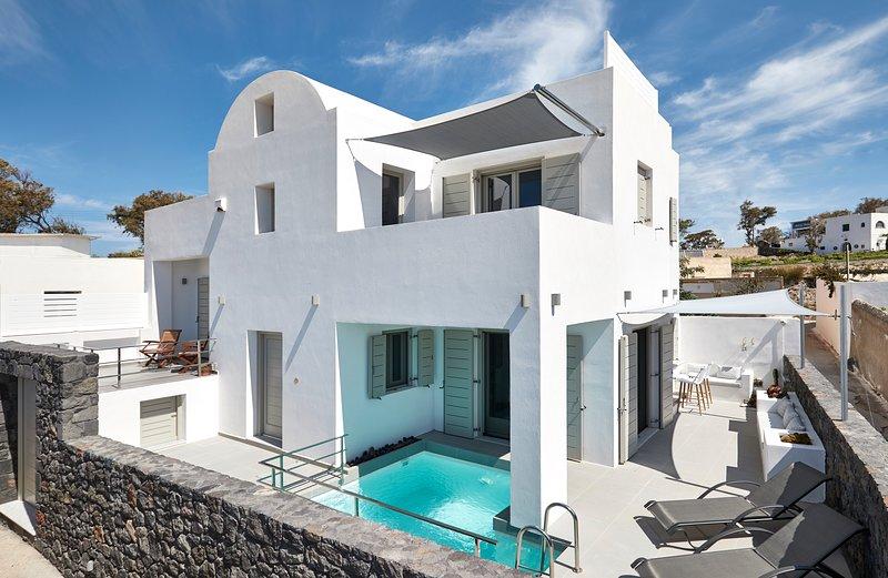 Alchemy Luxury Villa, location de vacances à Megalochori