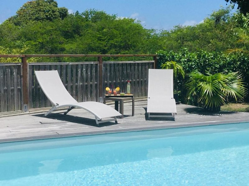 Spacious villa with swimming-pool, holiday rental in Douville