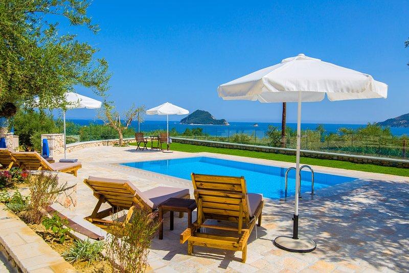 Vakis Villa Sea View, location de vacances à Porto Koukla