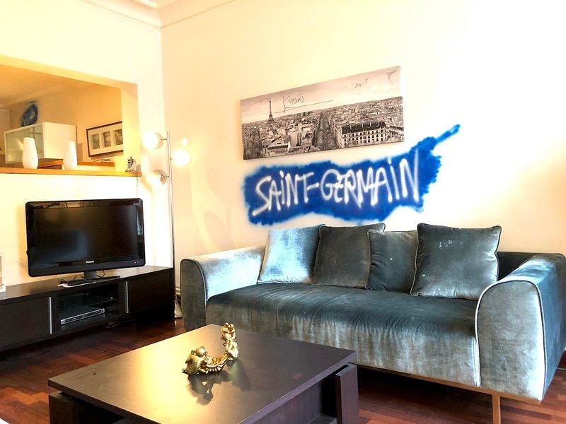 Appartement Saint Germain - séjour