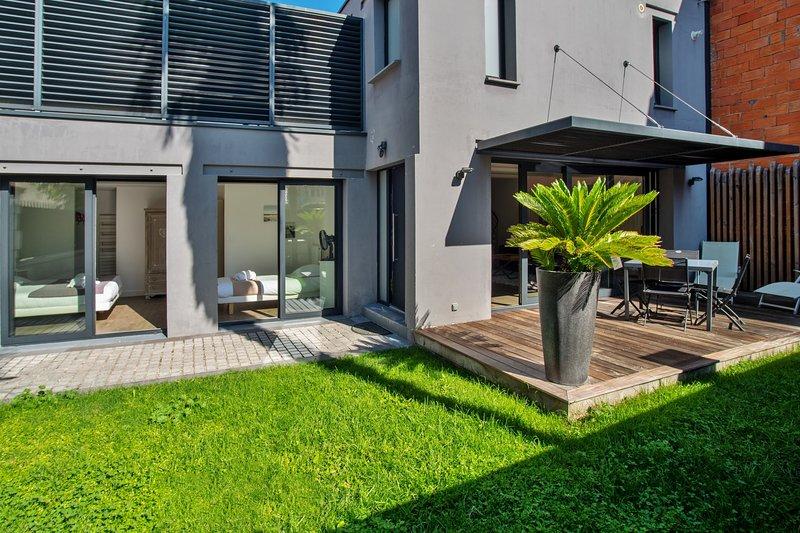 La Dépendance, Magnifique maison avec jardin, vacation rental in Talence