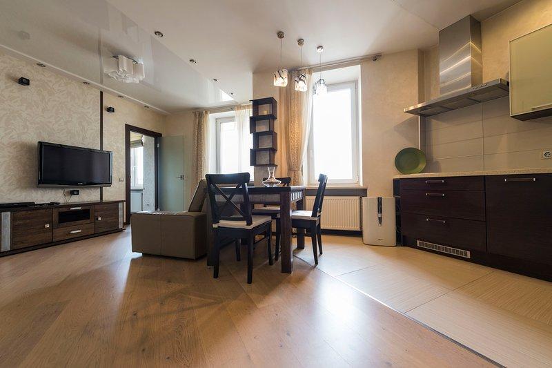 Lardge apartmen Serenity, holiday rental in Pargolovo