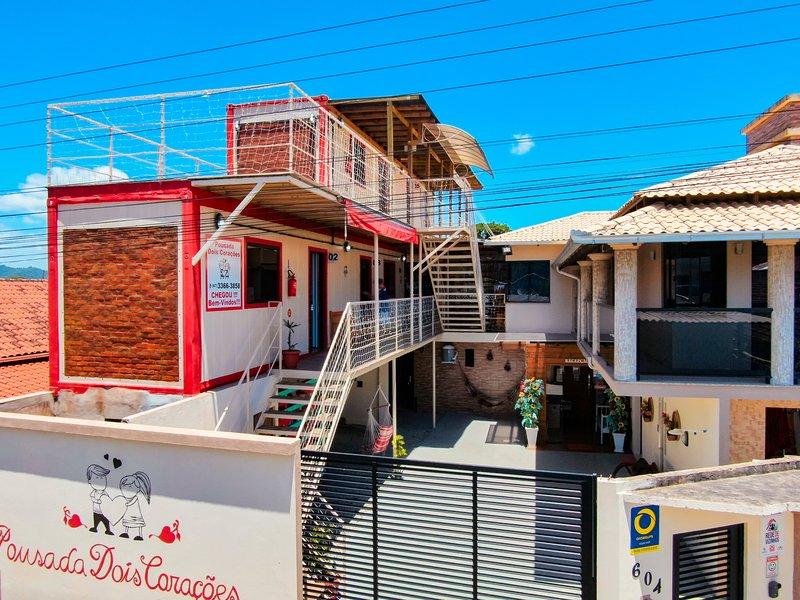 Pousada Dois Corações, alquiler de vacaciones en Picarras