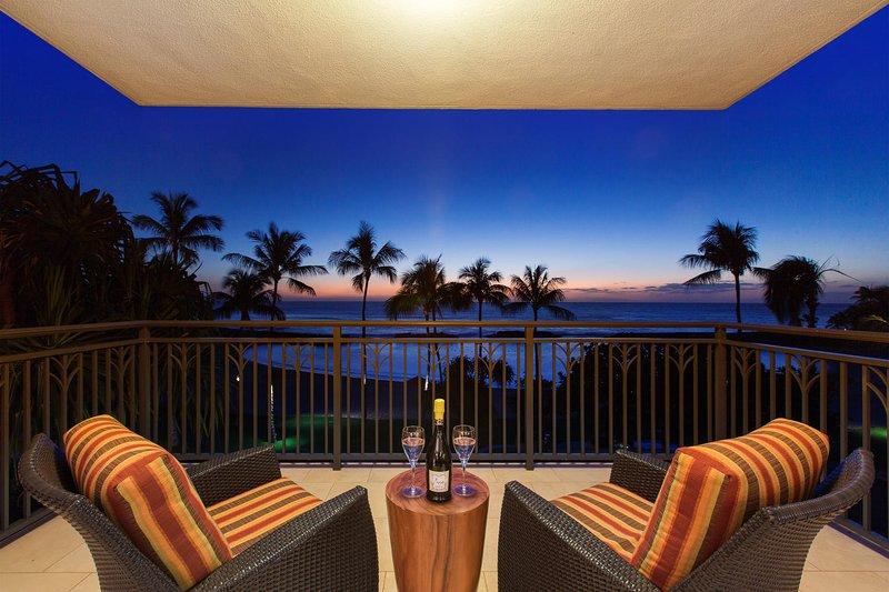 Hale Lalea Ko Olina Beach Villa (B310) - Crepúsculo en el Lanai