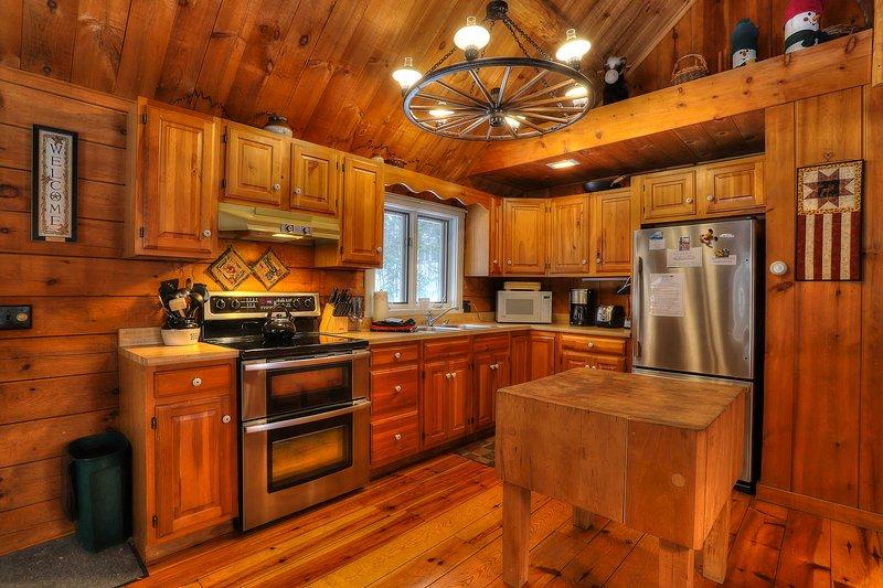 CedarDuft Cottage, alquiler de vacaciones en Rangeley