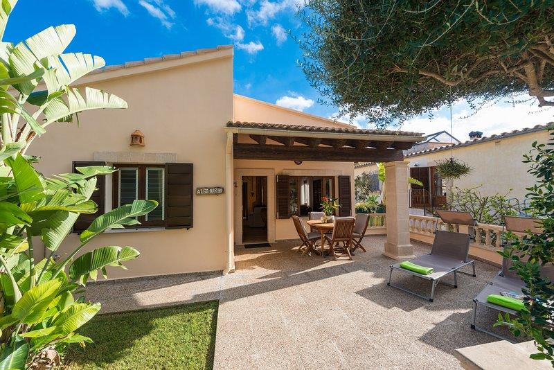 ALGA MARINA - Chalet for 6 people in Son Serra De Marina, holiday rental in Son Serra de Marina