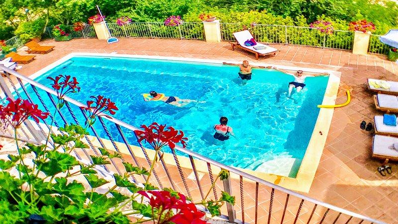 Spoleto Splash - 7 kms to central Spoleto, location de vacances à Precetto