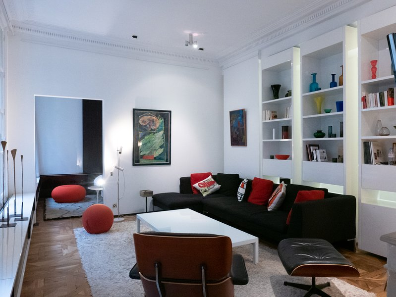 A very design and spacious flat close to the Louvre, holiday rental in Paris