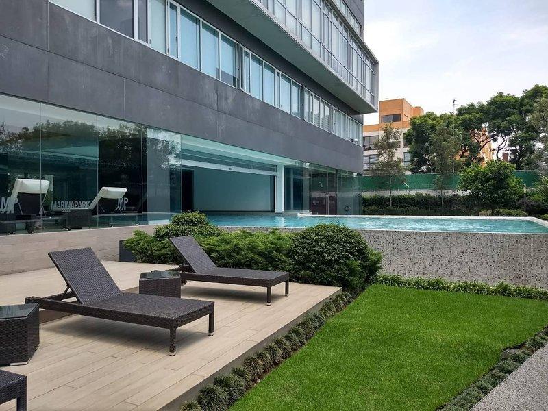 Nuevo, Practico Y Funcional Loft En Marina Park, holiday rental in Atizapan de Zaragoza