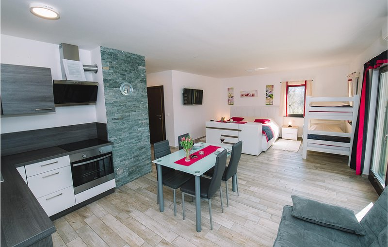 Nice apartment in Bled w/ Outdoor swimming pool, Sauna and Outdoor swimming pool, holiday rental in Zirovnica