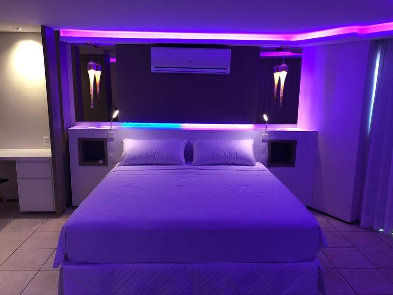 SEAFLATS 1103 ****/***** suite junior IATE PLAZA Hotel, aluguéis de temporada em Fortaleza
