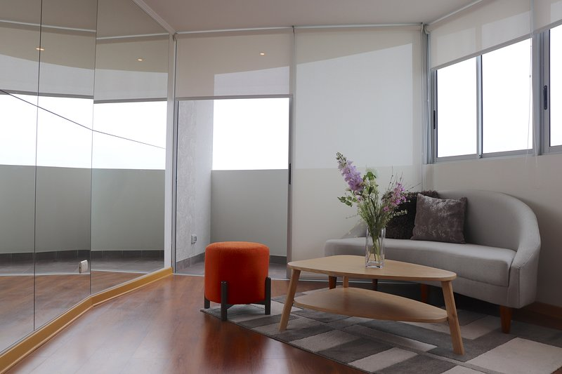 High Rise Deluxe Apartment by San Isidro between Lima downtown and Miraflores, holiday rental in Lince