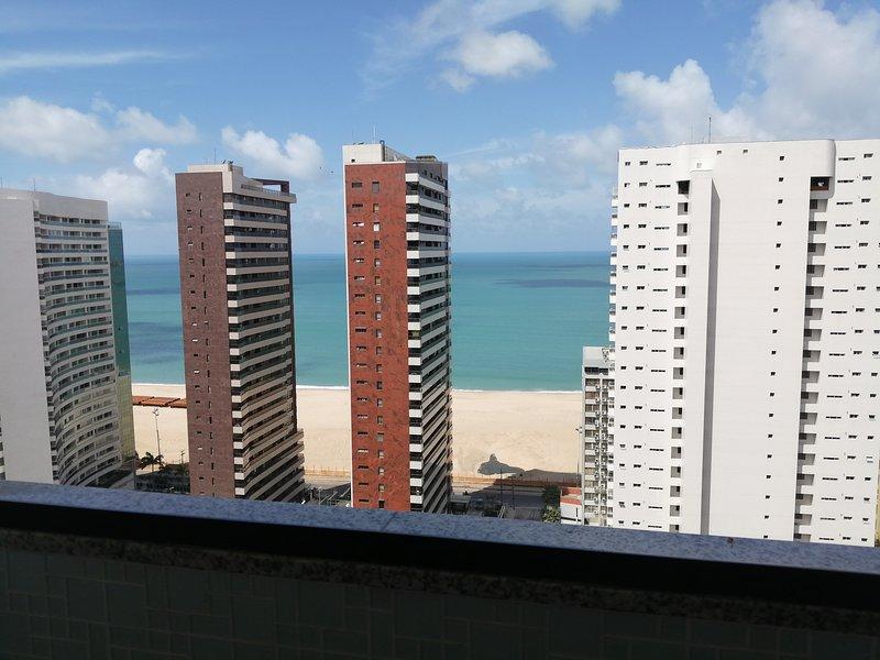Apartamento com linda vista!, holiday rental in Fortaleza