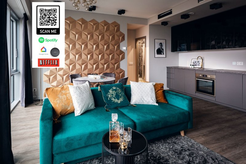 Brand New James Bond City Center, vacation rental in Vilnius County