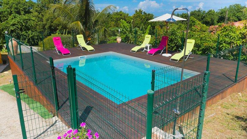 Charme bélé, alquiler de vacaciones en Le Francois