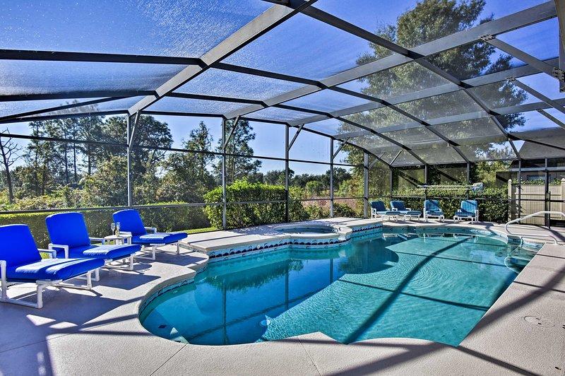 Home Near Disney - Private Screened Pool & Spa!, holiday rental in Bay Lake